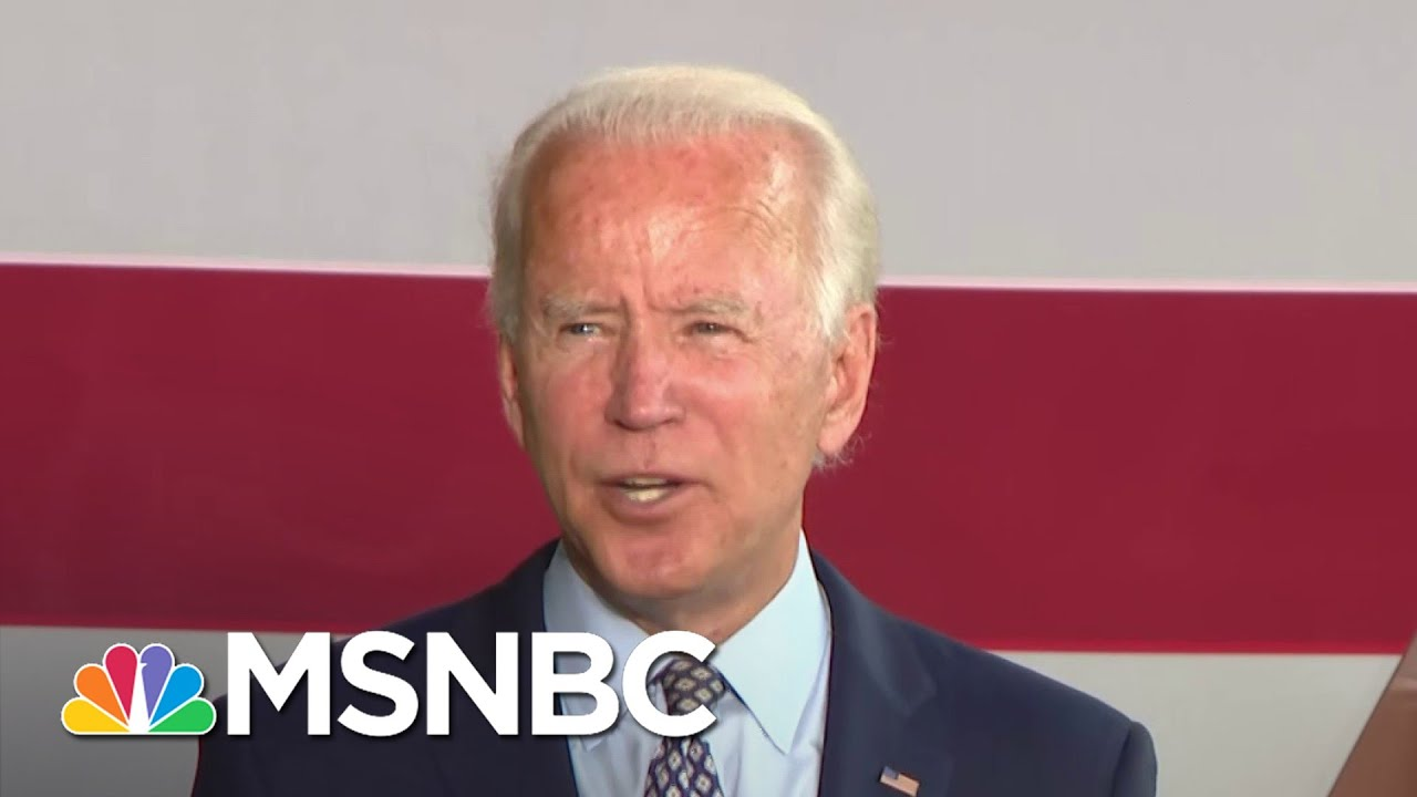 Biden: 'It's Time Corporate America Paid Their Fair Share Of Taxes' | MSNBC 2