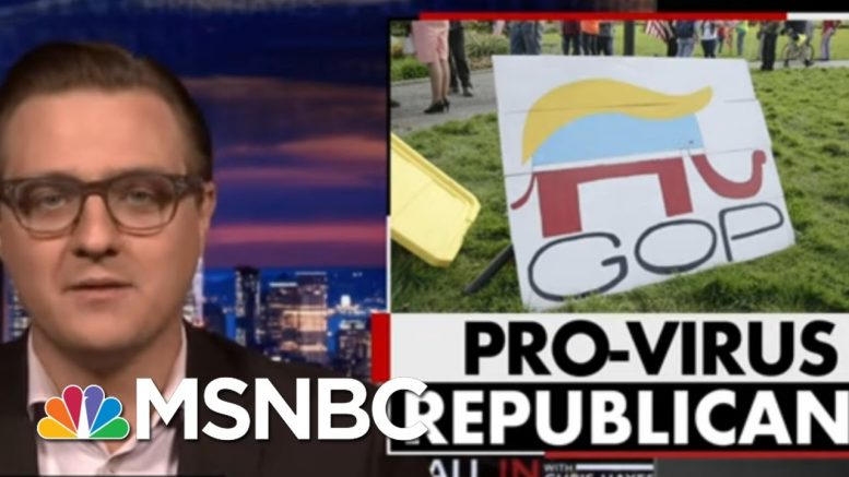 Chris Hayes: GOP Is Becoming A Pro-Virus Party Before Our Eyes | All In | MSNBC 1