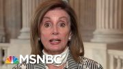 Speaker Pelosi: 'Our First Responsibility For Intelligence Is Force Protection' | Deadline | MSNBC 3