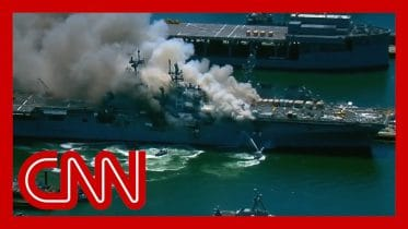 Explosion aboard US Navy ship leaves several injured 10