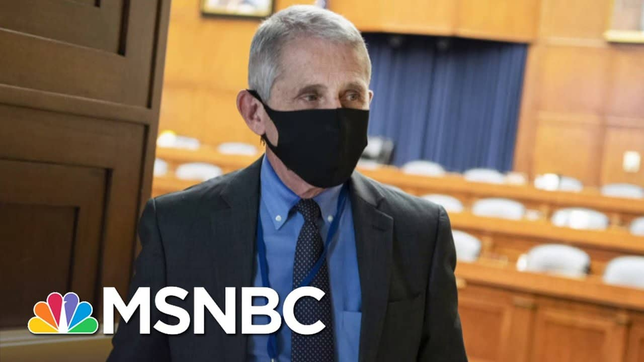 White House Works To Discredit Dr. Fauci As Coronavirus Surges in U.S. | MSNBC 5