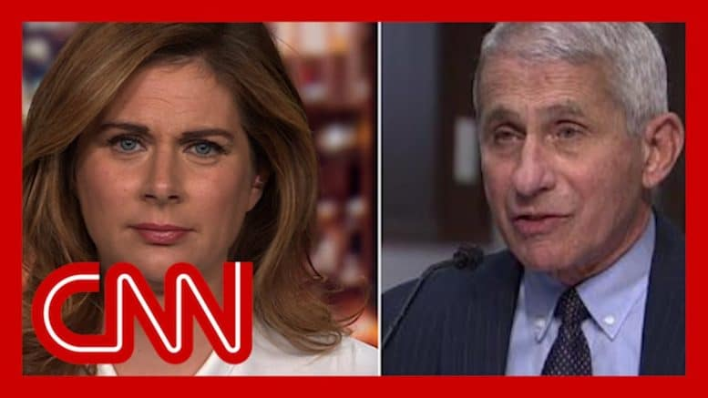 Erin Burnett: Fauci opens his mouth with facts, Trump does not 1