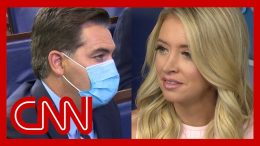 Acosta to McEnany: Why not have the guts to trash Fauci with your own names? 1