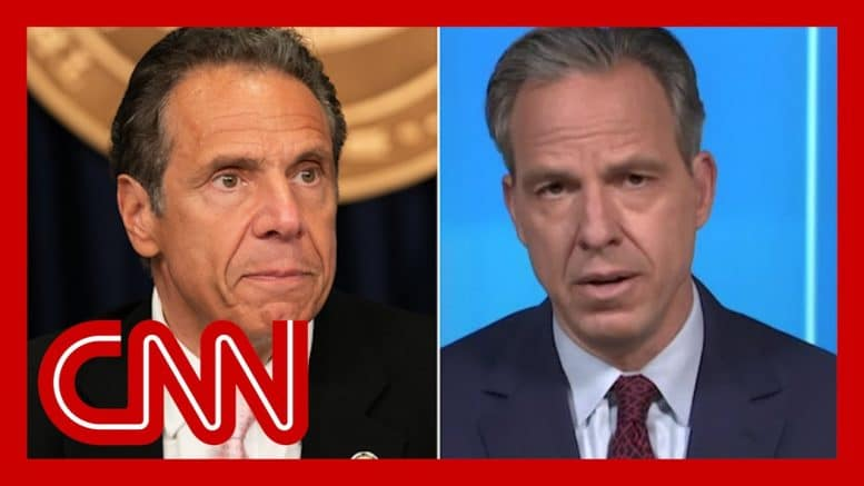 Tapper calls out NY Gov. Andrew Cuomo's Covid-19 victory lap 1