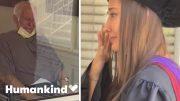 Grandpa weeps at sight of graduating grandkids | Humankind 4