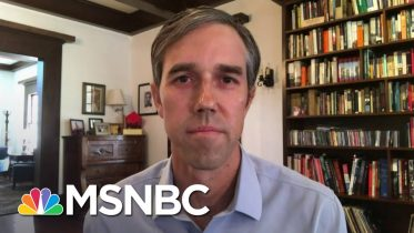 Beto O'Rourke: 'Virus Is Out Of Control,' No Leadership From TX Governor | Andrea Mitchell | MSNBC 1