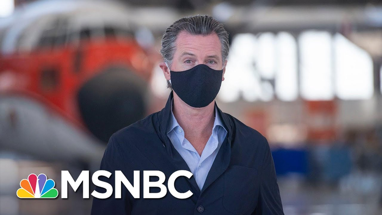 California Governor Orders Indoor Operations For Bars, Restaurants To Close | MSNBC 5