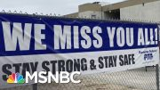 Los Angeles, San Diego Schools Will Be Online Only In Fall | Katy Tur | MSNBC 4