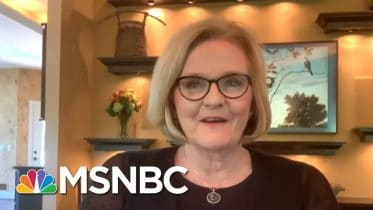 Sen. Claire McCaskill: 'This Country Trusts Dr. Fauci For A Reason' | Deadline | MSNBC 6