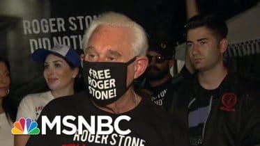 Fmr Watergate Prosecutor: Trump Brazenly Saving Stone Worse Than Nixon | MSNBC 6