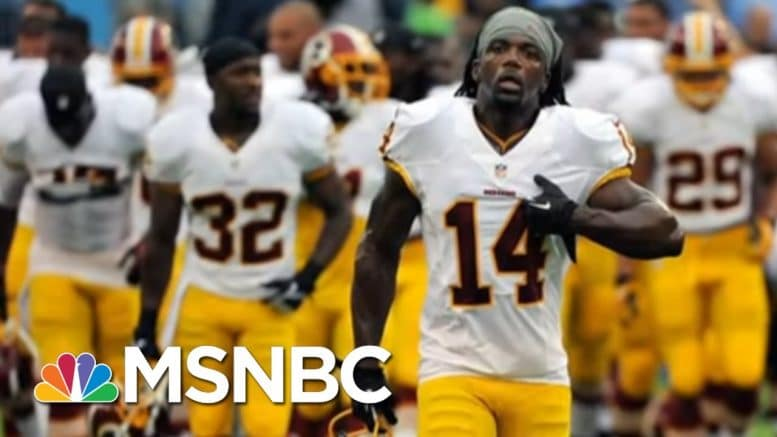 Former NFL Player Reacts To Washington Team's Drop Of Racist Name | All In | MSNBC 1