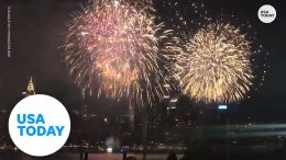Macy's stages secret fireworks displays in NYC   USA TODAY 5