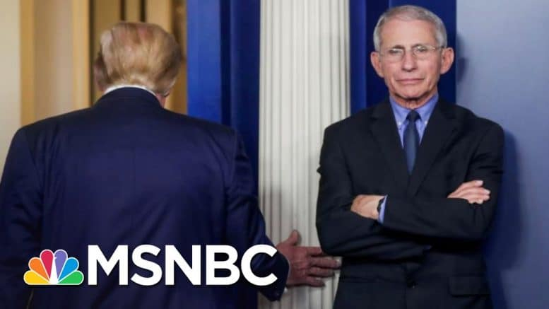 Trump's White House Tries To Discredit Fauci As COVID-19 Surges | The 11th Hour | MSNBC 1