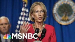 Local Schools Ignoring DeVos And Trump's Push To Reopen | The 11th Hour | MSNBC 3