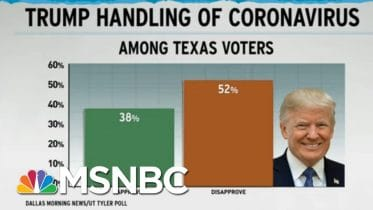 Trump Botching Coronavirus Response Weighs On GOP Political Polls | Rachel Maddow | MSNBC 6