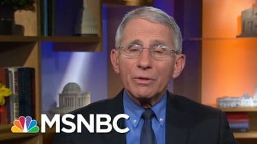 White House's Attempt To Discredit Dr. Anthony Fauci Poses Long-Term Risk - Day That Was | MSNBC 10