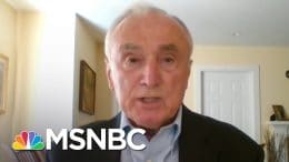 Bill Bratton On Defunding Police: 'Good Luck On Being More Impactful' | Stephanie Ruhle | MSNBC 1