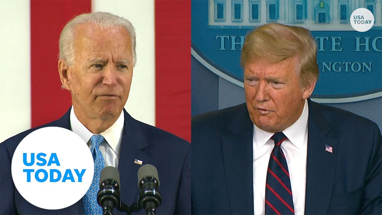 Biden criticizes President Trump's response during COVID-19 pandemic   USA TODAY 3