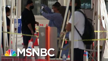Demand For Virus Testing Overwhelms South Florida Sites | MSNBC 6