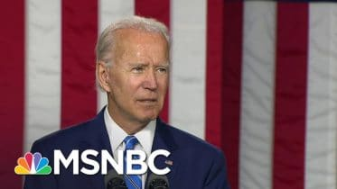 Biden Announces Plan For 'Creating Jobs' And 'Protecting Our Climate' | MSNBC 6