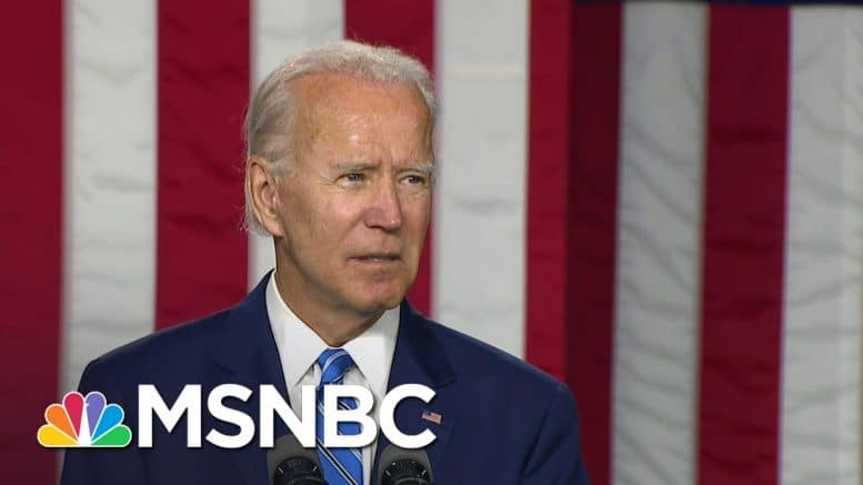 Biden Announces Plan For 'Creating Jobs' And 'Protecting Our Climate' | MSNBC 1
