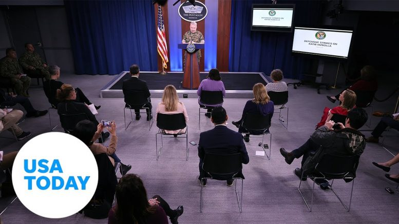 Pentagon holds briefing to provide update on COVID-19 (LIVE) | USA TODAY 1