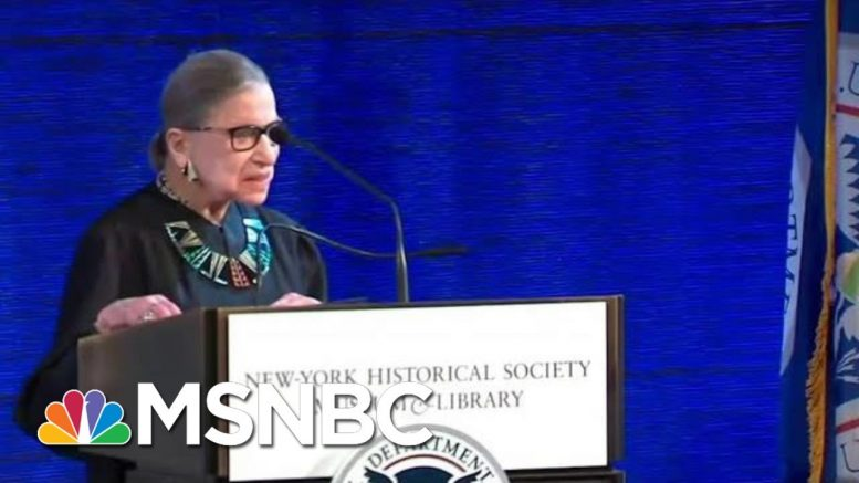 Justice Ginsburg Hospitalized For 'Possible Infection' | MSNBC 1