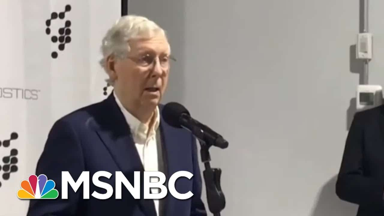 'A Good, Sweating Time': GOP Mulls Moving National Convention Outdoors Amid COVID-19 Surge | MSNBC 7