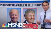 Biden Holds Double-Digit Lead Over Pres. Trump In Pennsylvania | MSNBC 2