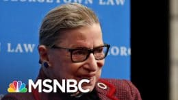 Justice Ginsburg Released From Hospital, 'Home And Doing Well' | MSNBC 1