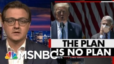Hayes: Fauci Is Trying To Fight Coronavirus While Trump Is Trying To Fight Reality | All In | MSNBC 6