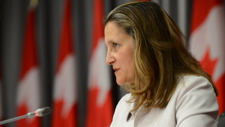 Freeland: 'I'm really sorry' about WE controversy 1