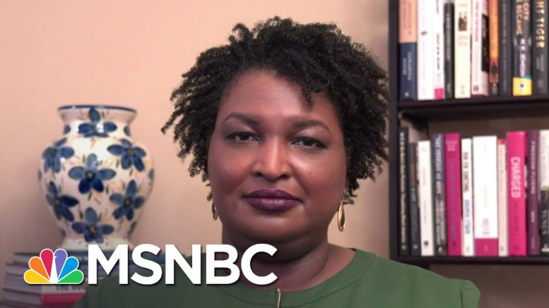 Stacey Abrams: Georgia Governor's Action On Masks 'Proves His Incompetence' | The Last Word | MSNBC 1