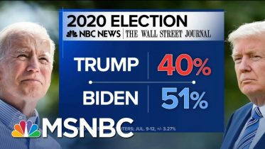 More Troubling Poll Results For President Trump - Day That Was | MSNBC 6