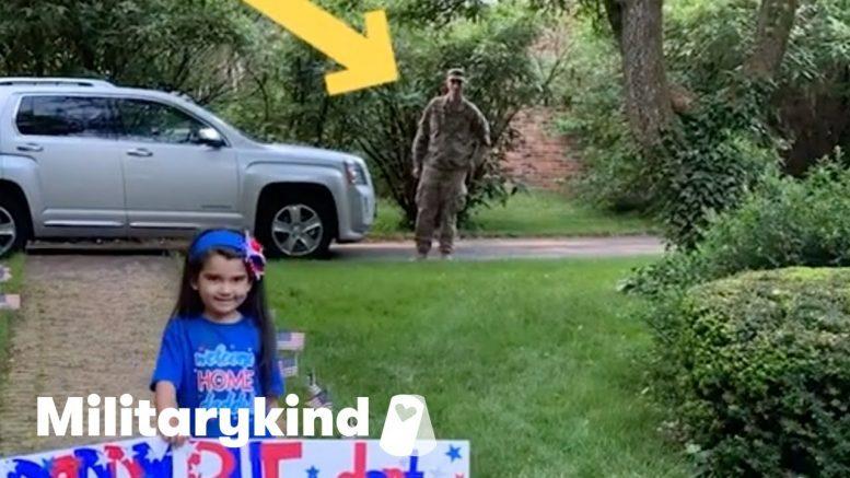 Potty break almost foils soldier surprise   Militarykind 1