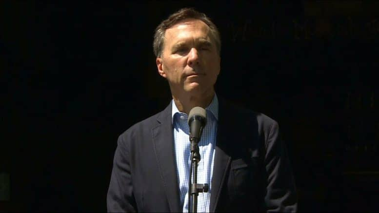 'I made a mistake': Morneau apologizes for WE controversy 1