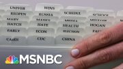 Reuters Photo Captures Tabs In Kayleigh McEnany's Binder | The 11th Hour | MSNBC 2