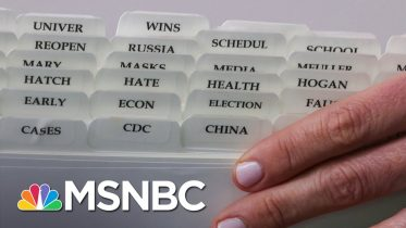 Reuters Photo Captures Tabs In Kayleigh McEnany's Binder | The 11th Hour | MSNBC 5
