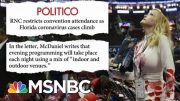 Republicans Limit Jacksonville Convention Attendance | Morning Joe | MSNBC 3