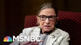 Justice Ginsburg Being Treated For Liver Cancer Recurrence | Andrea Mitchell | MSNBC 1