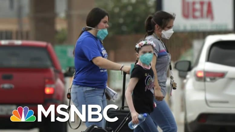COVID Docs On 'Dire Situation' In TX And FL | Hallie Jackson | MSNBC 1