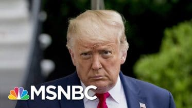 Trump Turns To A Strategy Of Covering Up Vital Information About Coronavirus | Deadline | MSNBC 6