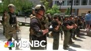 Unmarked Federal Troops Snatching Protesters Raise Local Alarm | Rachel Maddow | MSNBC 5