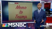 Memo to Trump: 'You Resist Voting Reforms At Every Turn' | MSNBC 3