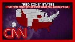 White House coronavirus task force aware of 18 'red zone' states 4