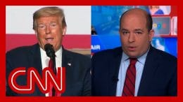 Stelter pinpoints when Trump 'changed his tune' on testing 3