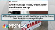 Trump Picks Worst Time To Attack Pre-Existing Condition Coverage | Rachel Maddow | MSNBC 5