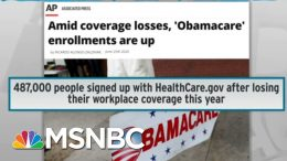 Trump Picks Worst Time To Attack Pre-Existing Condition Coverage | Rachel Maddow | MSNBC 9