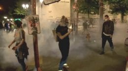 Protests marked by police violence in Portland and Seattle 7