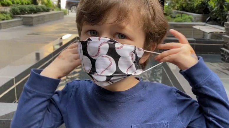 Tips to help encourage kids to wear masks 1